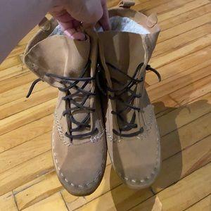 Keds leather mocassins